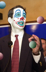 Mark Sanford (Gov. R-SC):: Obstructionist Republican Clown by Hebiclens / WMxdesign