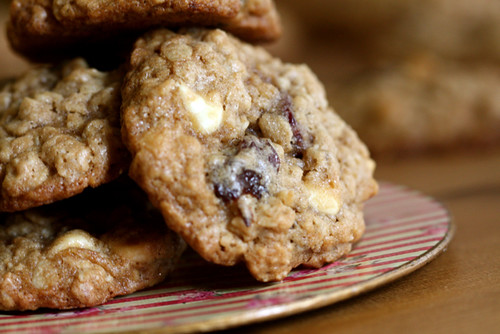 Oatmeal Cherry White Chocolate Cookies | Joy the Baker