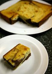 Vanilla & Chocolate Marble Cake