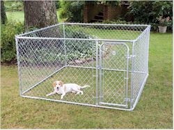 75754 7 5x7 5x4%20Kennel,wireless pet fences, undeground dog fences, pet doors, batteries & accessories, dod agility training equipment, dogs agility equipment, closed tunnel, agility closed tunnel, b