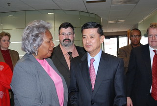VA Secretary Shinseki Attends Labor-Management...