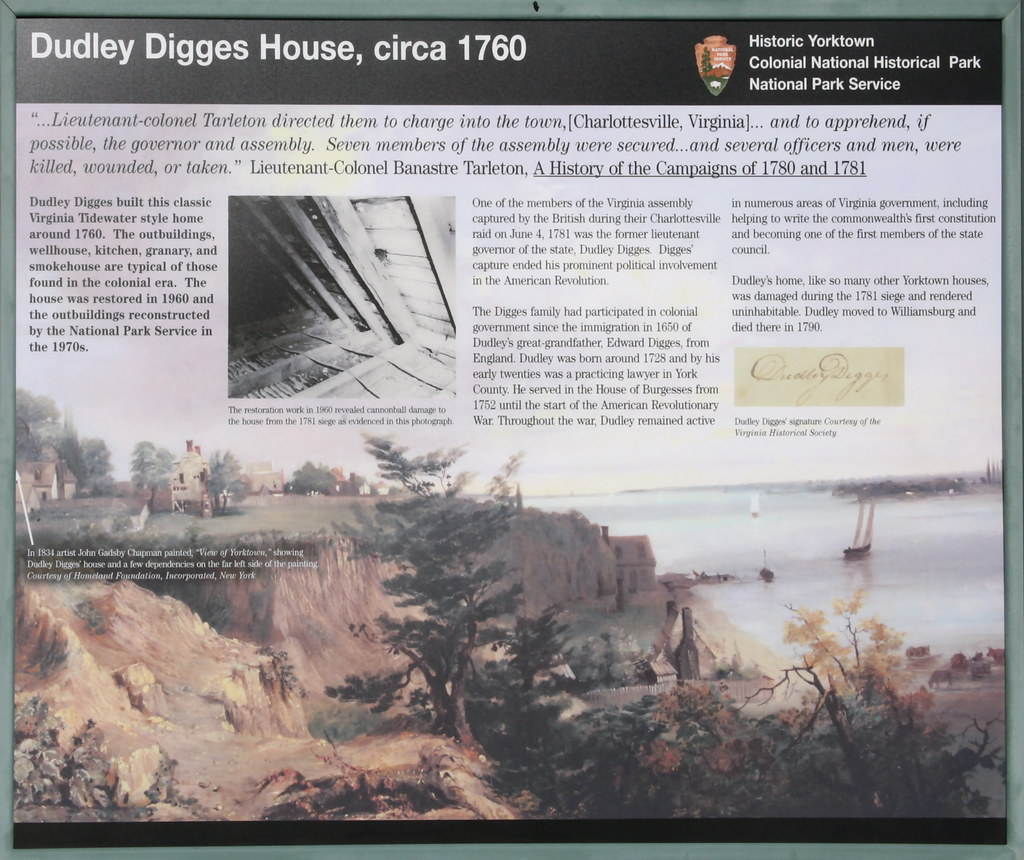 Dudley Digges House Sign