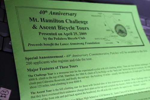 Mt. Hamilton Challenge