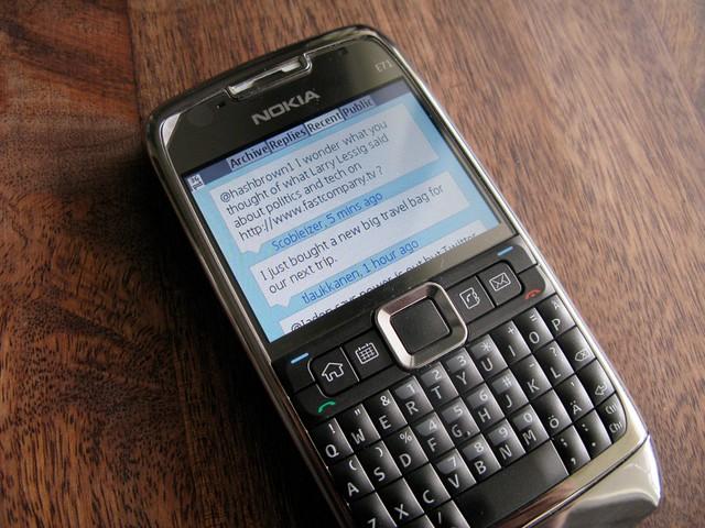 Twim on Nokia E71
