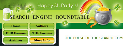 St. Patricks Day Theme at SERoundtable.com
