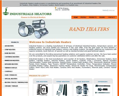Industrials heators