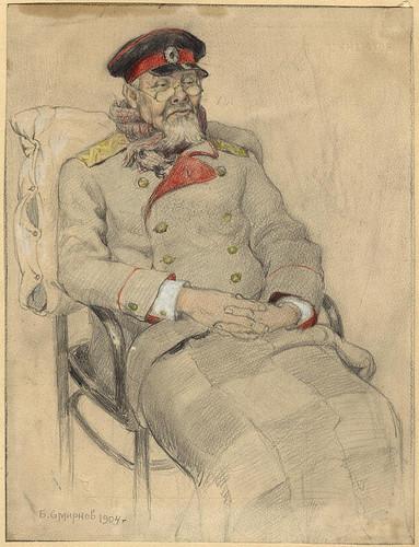 005- Su excelencia esta resfriado-Boris Smirnof- Irkutsk 1904