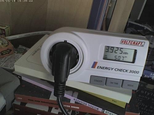 Wattmeter Video (Panasonic BL-C111)