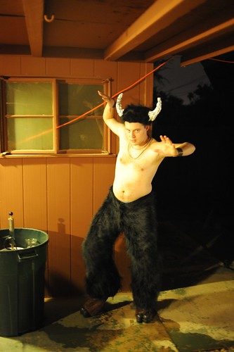 Myself as a Satyr