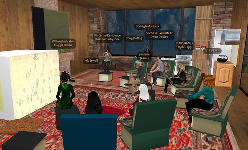 Kristen Darbyshire chat on Second Life