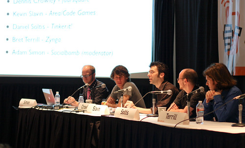 Social Gamers panel @SxSW by doryexmachina from Flickr