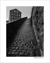 Hommage to Bill Brandt (Ian Bramham) Tags: street urban bw architecture photography photo nikon fineart explore hommage halifax pilgrimage snicket d40 billbrandt ianbramham