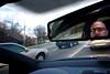 No Looking Back (Samer Farha) Tags: me driving rearviewmirror 365 stoplight gti 365days 087365