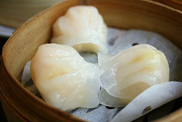 Shrimp Dumpling or Har Gau