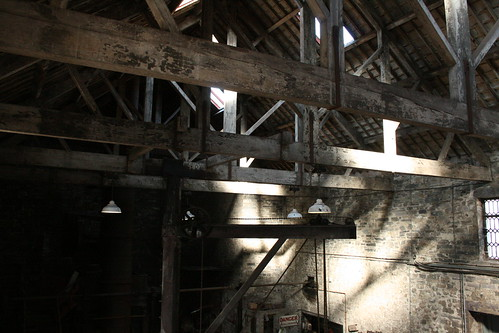 Sunlight in the foundry