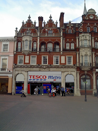 Artist's impression (thanks to Neil Klotz) of Tesco, Lloyds Avenue