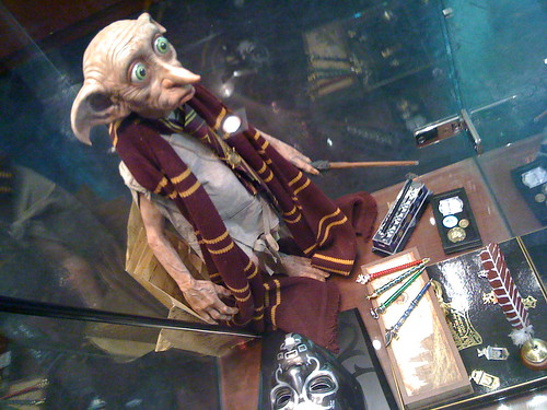 Dobby, from Harry Potter