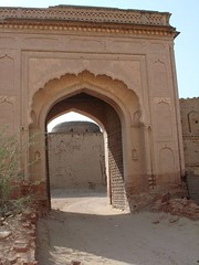 Outer Gate of Derawar Fort (amprinters) Tags: fort defence wal