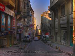 Istanbul morning - HDR (CyberMacs) Tags: street turkey türkiye istanbul törökország hdr beyoglu galata constantinople byzantium beyoğlu κωνσταντινούπολη