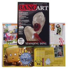 Mr Toast in Bang Art magazine