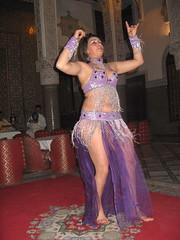 Belly dancer, Al-Fassiya restaurant, Fez (ali eminov) Tags: fez medina restaurants alfassiyarestaurant dancing bellydancer orientaldancer morocco entertainment fes maroc
