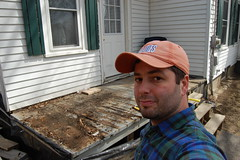 Day042 - Porch Removal (rabbibob) Tags: house porch 365 removal renovate replace 365days rabbibob day042 dnd365 rabbibobcom