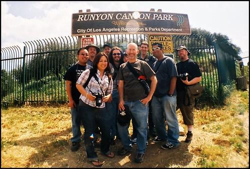 Runyon Canyon Group Shot #2