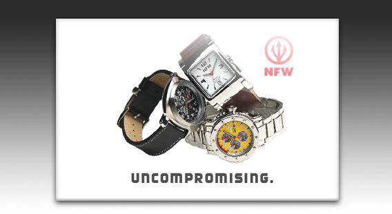 NFW Watches Print Catalog