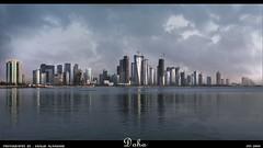 To Doha ... All my love (khalid almasoud) Tags: city skyline canon buildings eos photographer 2009 khalid doha qatar      50d  almasoud flickraward