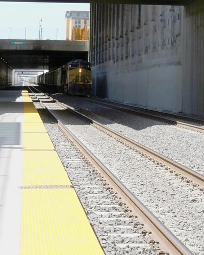 train trench