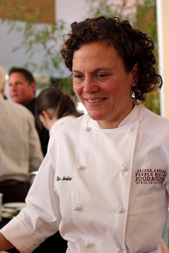Traci Des Jardins at The Pebble Beach Food and Wine Festival