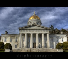 Vermont State Capitol at Montpelier (DP|Photography) Tags: vermont lakegeorge dri hdr montpelier lakechamplain greenmountains sigma1020mm nationalhistoriclandmark winooskiriver photomatix usnationalhistoriclandmark tonemapping vermontstatehouse debashispradhan dpphotography vermontstatecapitol vermontshutterbugs vtroute100 vtroute125 vtrt125 doricportico dp|photography