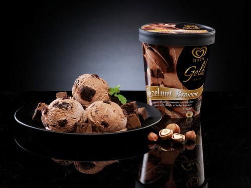 Hazelnut Brownie :)