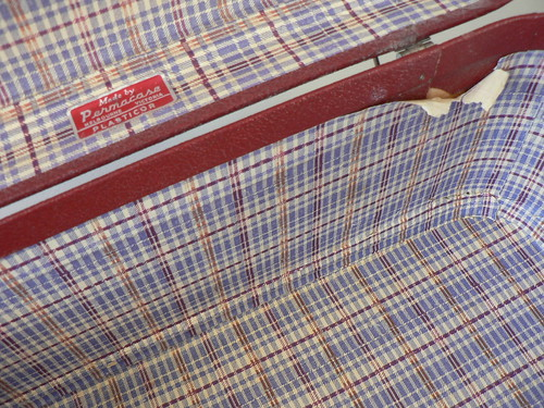 Inside Vintage Suitcases