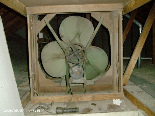 Ohw View Topic Getting The Old Attic Fan Working Again