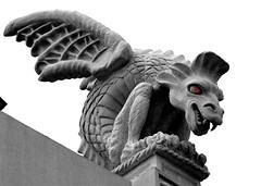 METROPOLIS GRAY R (mysunsin) Tags: dragon gargoyle metropolis grotesque
