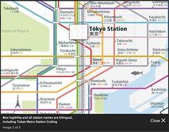 Vollmer Design's Informa Tokyo Rail & Subway Map