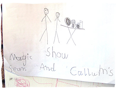 Sean and Callum's Magic Show