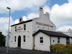 Four Topped Oak - Hough Green, Widnes (garstonian) Tags: cheshire pubs realale widnes