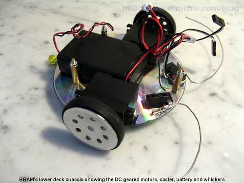 Building BRAM your first Autonomous Mobile Robot using Microchip PIC Microcontroller – Part 1