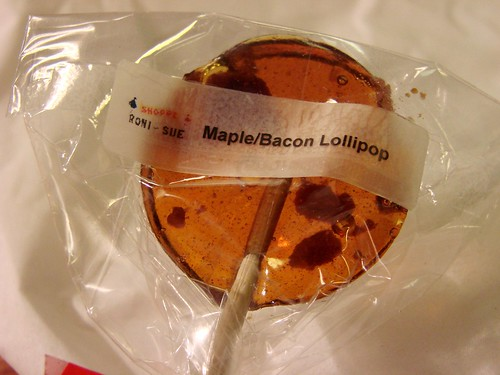 Roni Sue Maple Bacon Lollipop