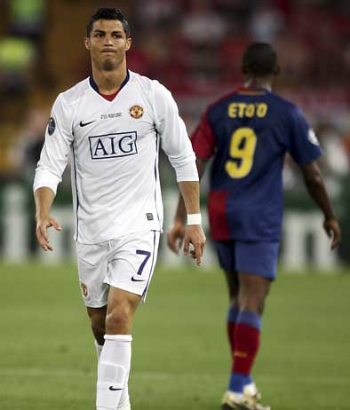 CR7 vs Eto'o