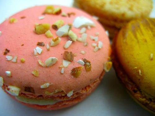 Sweet wedding almond macaron