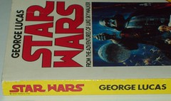 UK Star Wars - spine (JRBooth) Tags: book starwars unitedkingdom paperback novel