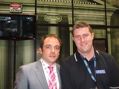 Mark Sheppard @ The High Voltage Software Booth