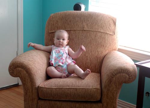 Violet at 5 months
