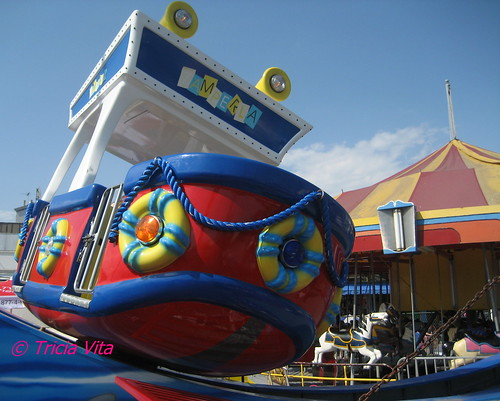 Zamperla Rockin' Tug at McCullough's Kiddie Park, Coney Island. Photo © Tricia Vita/me-myself-i via flickr