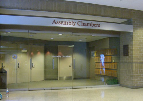 Anchorage Assembly Chambers -- before the doors opened