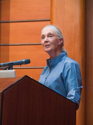 Dr. Jane Goodall Speaking 珍古德博士演講