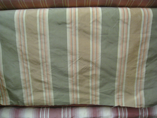 silk stripe fabric